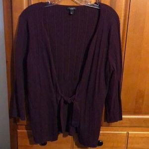 Talbots knit cardigan